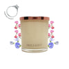 No.17 Sicilian Sweet Pea & Jasmine & Rose - Jewel Candle