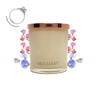 No.17 Sicilian Sweet Pea & Jasmine - Jewel Candle