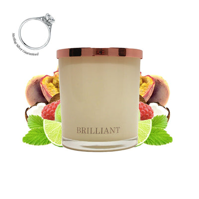 No.28 Passion Fruit & Lime  - Jewel Candle