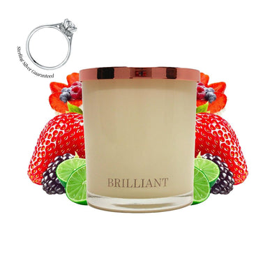 No.32 Summer Berries & Lime Pavlova  - Jewel Candle