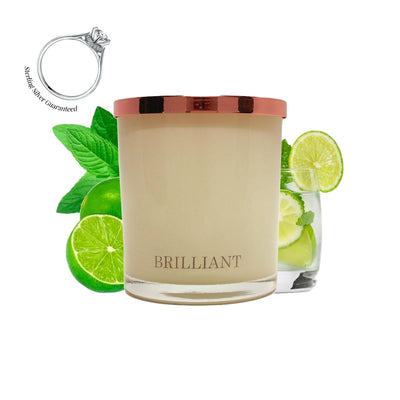 No.33 Mint Mojito  - Jewel Candle