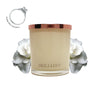 No.15 Gardenia Blanc & Rose - Jewel Candle