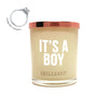 It's a Boy Brilliant Scent Quote Jewel Candle