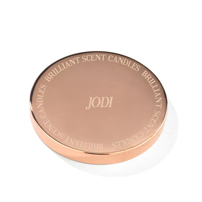 Monogramed Brilliant Scent - Jewel Candle