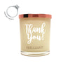 Thank- You Brilliant Scent Quote Jewel Candle