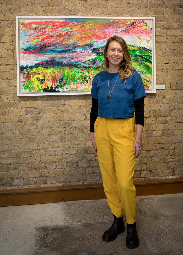 Chloe Tinsley Artist Mayfair, Chloe Art, Plein Air, Exhibition, Colourful Art, Inspiring Art