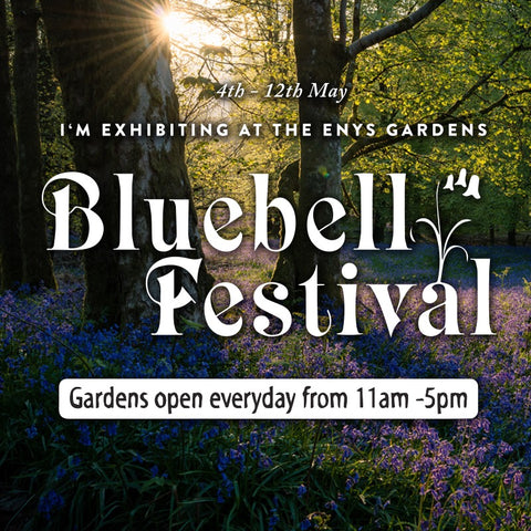 The Art of Nature, Enys House Art Exhibition, Bluebell Festival, Bank Holiday Weekend
