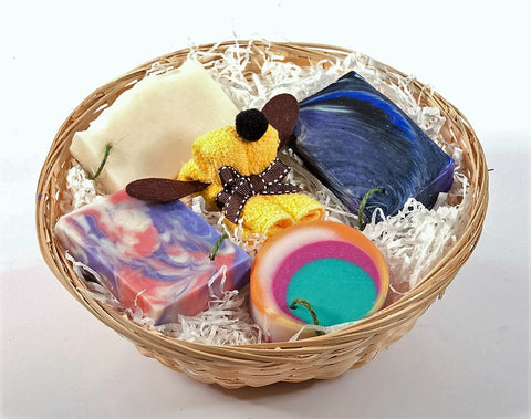 Soap gift basket: The soother