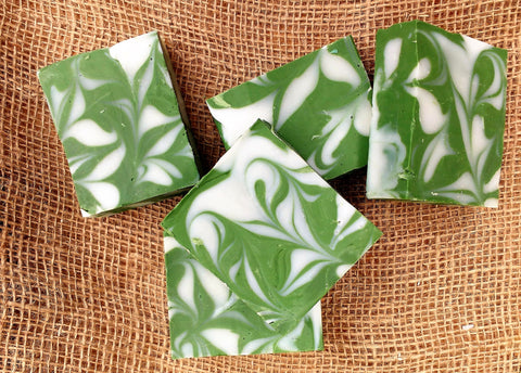 Luxury soap: Herb Garden