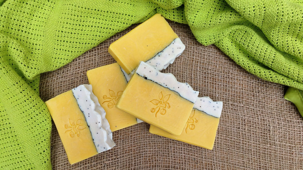 Luxury handmade soap: Lemon Meringue