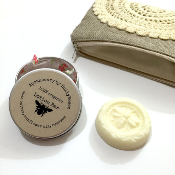 Lotion Bar & Zipper Pouch Gift Set
