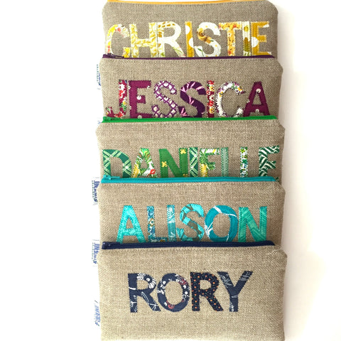 Personalized Clutch in Your Color Choice