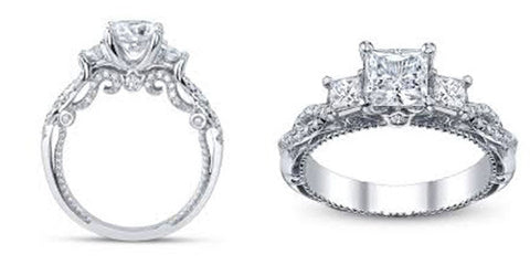 image of two engagement rings