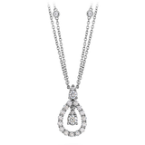 HOF Diamond Necklace HFNADD00858W