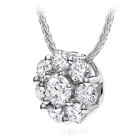 HOF Diamond Necklace HFPBLV01008W