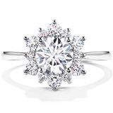 HOF Engagement Ring HBRELDO788WA-C