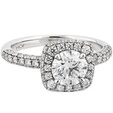 HOF Engagement Ring HBREPH01408WB-C