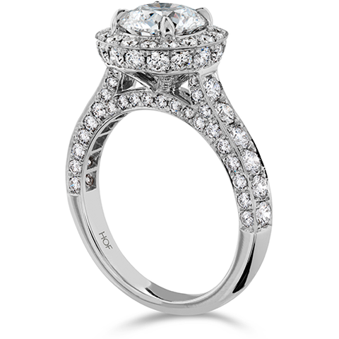 HOF Engagement Ring HBRILLHD02308WC-C