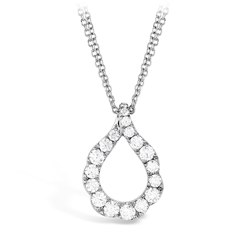 HOF Diamond Necklace HFPDLCSTO1008W