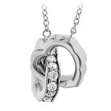 HOF Diamond Necklace HFNIHDLO00258W