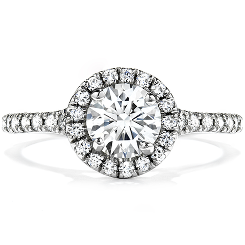 HOF Engagement Ring HBRTCR0085PLA-C