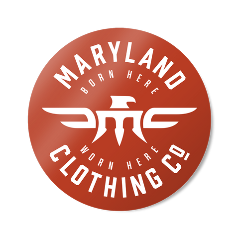 Maryland Clothing Co. Sticker -  - 1
