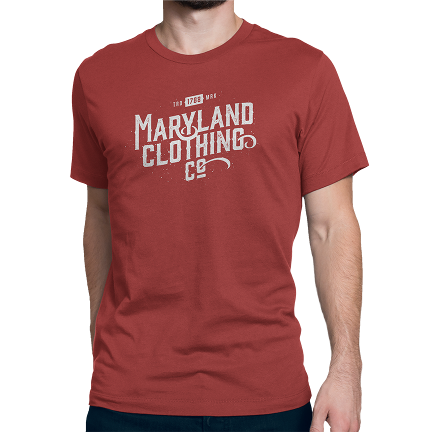 Vintage Trademark 1788 Tee - Men's Crew - Maryland Clothing Co