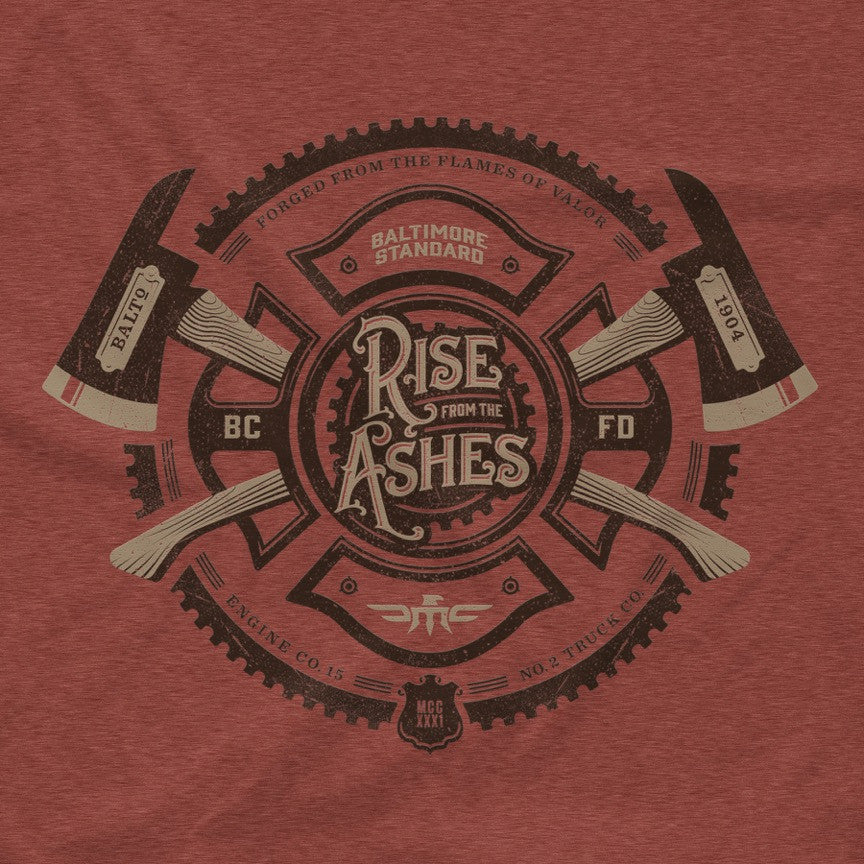Rise From The Ashes Unisex Crew - Maryland Clothing Co