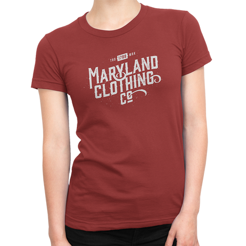 Vintage Trademark 1788 Tee - Women's Crew - Maryland Clothing Co