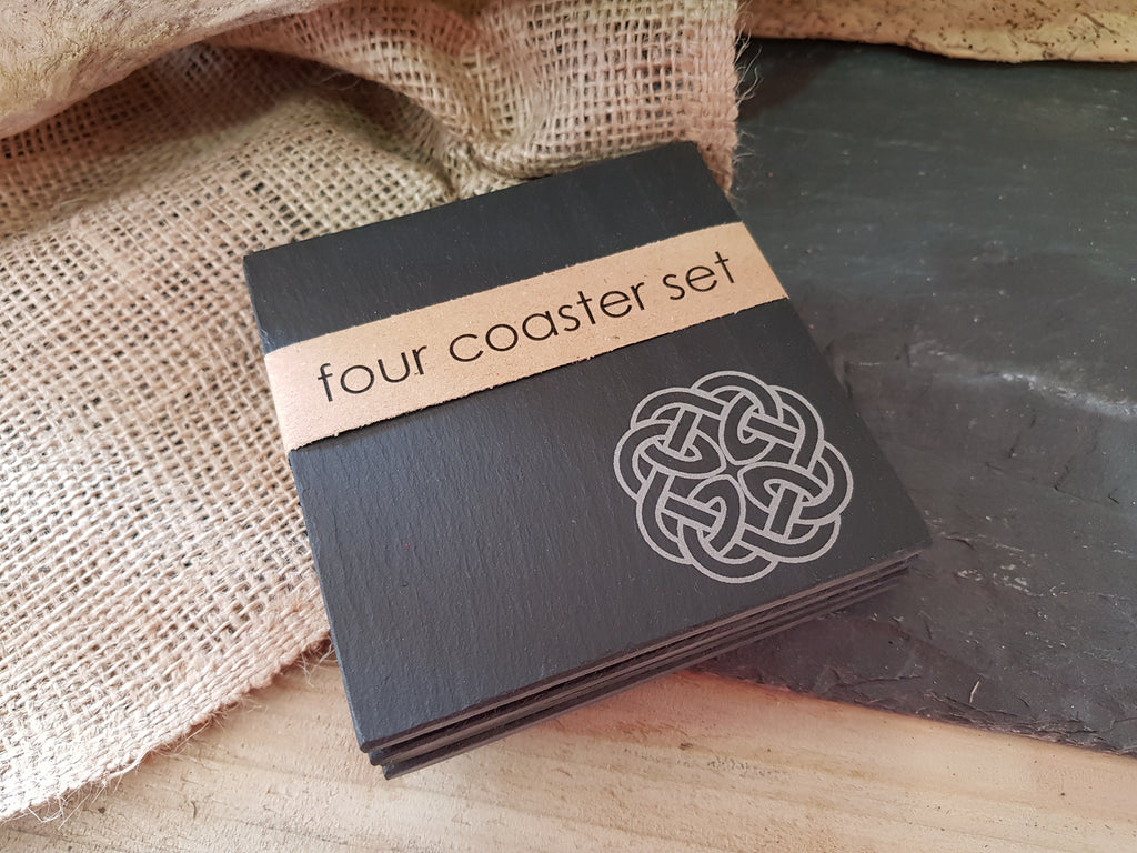 Celtic Knot Coaster Set