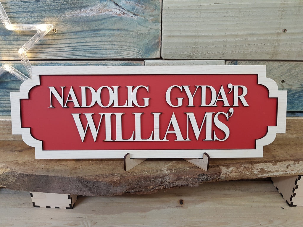 Christmas At The Williams Railway Sign