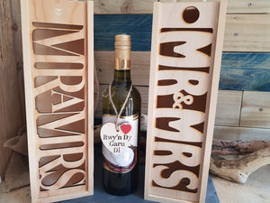 Mr & Mrs Bottle Box