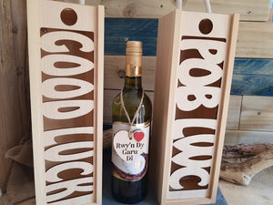 Pob Lwc Bottle Box