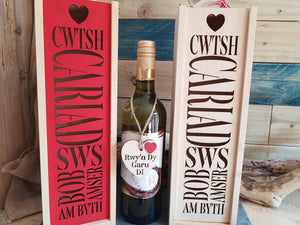 Cwtsh Bottle Box