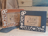 Personalised Fretwork Photo Frame