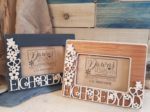 Bedydd Fretwork Photo Frame