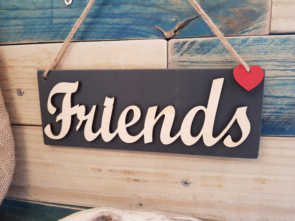 Ffrind Friend Slate Plaque