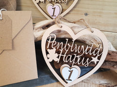 Fretwork Wood Heart