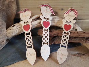 Small Wood Lovespoon