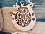 HORSESHOE FAVOUR WEDDING, PRIODAS