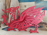 3D Welsh Dragon