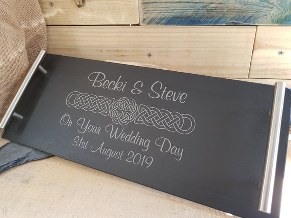 Personalised Slate Serving Board