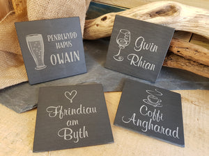 Personalised Slate Coaster