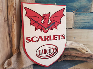 Scarletts Rugby Clock