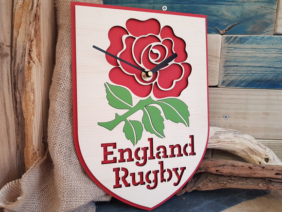 England Rugby Clock