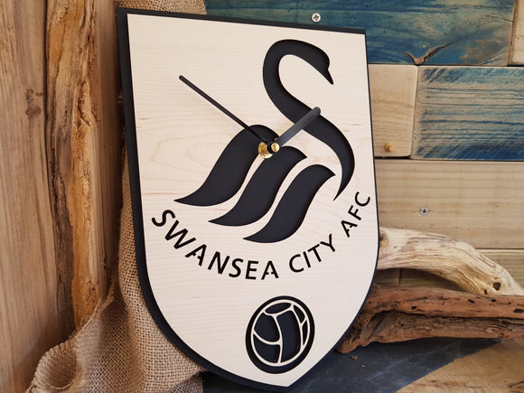 Swansea Football Clock