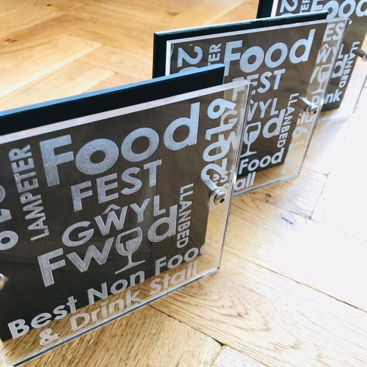 Gŵyl Fwyd- Food Festival awards