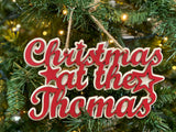 Mini Christmas At The Thomas Hanging Sign