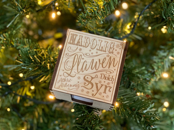 Christmas Wooden Note Pad
