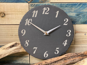 Slate Clock Numbers Design